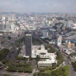 Foto da vista de cima da cidade, representando abrir empresa em São Bernardo do Campo