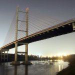 Foto da ponte estaiada de Hortolândia, representando abrir empresa em Hortolândia