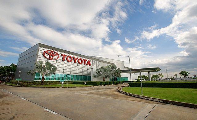 Foto de uma das empresas da Toyota, representando as estratégias de endomarketing utilizadas por ela