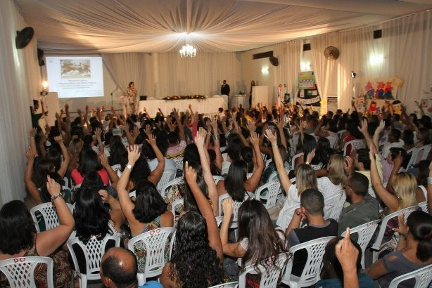 Foto de um evento organizado pelo Instituto Chapada