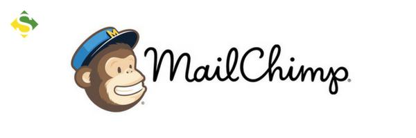 Logo de uma das ferramentas de marketing, o Mail Chimp