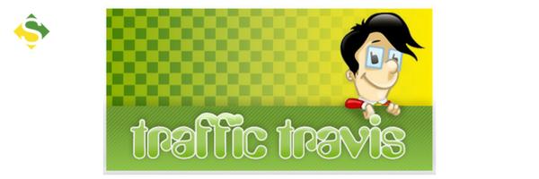 Logo de uma das ferramentas de marketing, o Traffic Travis