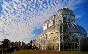 Foto do Jardim Botânico de Curitiba, representando abrir empresa em Curitiba