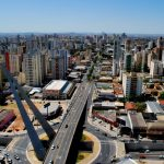 Foto do centro da cidade, representando abrir empresa em Goiânia