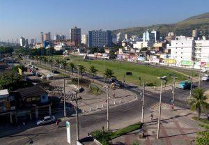 Foto do centro da cidade, representando abrir empresa em Nova Iguaçu