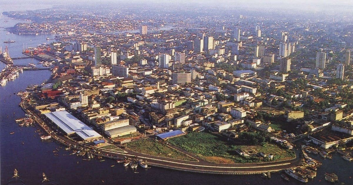 foto da cidade, representando contabilidade em manaus