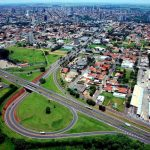 Foto aérea da cidade, representando abrir empresa em Araçatuba