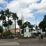 Foto de praça no centro da cidade, representando abrir empresa em Birigui