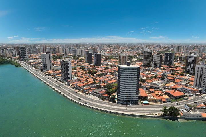 Foto da costa da cidade, representando abrir empresa em Aracaju