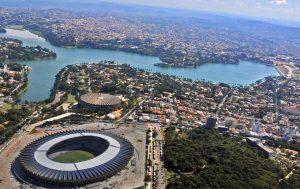 Foto aérea da cidade, representando abrir empresa em Belo Horizonte