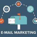 Montagem representando algumas dicas de email marketing