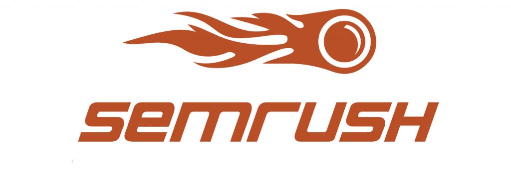 Logo SemRush, uma das ferramentas para monitorar os concorrentes