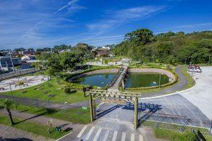Foto do portal da cidade, representando abrir empresa em Pinhais