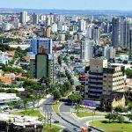 Foto aérea da cidade, representando abrir empresa em Sorocaba