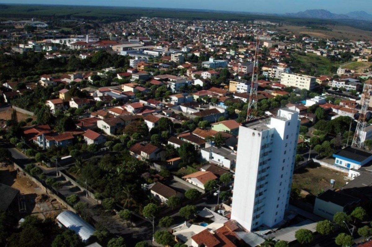 Foto aérea de Aracruz, representando abrir empresa em Aracruz - Abertura Simples