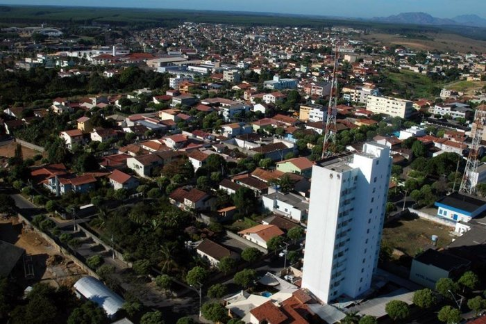 Foto aérea de Aracruz, representando escritório de contabilidade em Aracruz - Abertura Simples