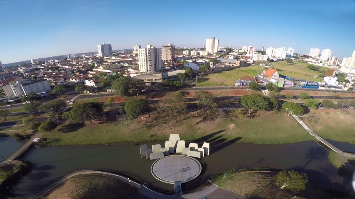 Foto aérea de Bauru, representando abrir empresa em Bauru - Abertura Simples