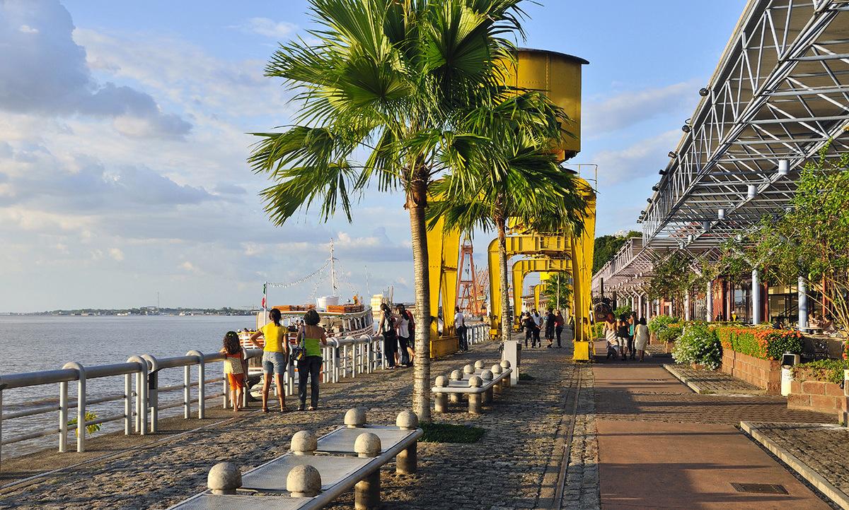Foto das docas em Belém, representando abrir empresa em Belém - Abertura Simples