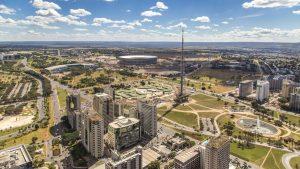 Foto aérea da cidade de Brasília, representando escritório de contabilidade em Brasília - Abertura Simples