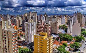 Foto aérea da cidade de Campinas, representando escritório de contabilidade em Campinas - Abertura Simples
