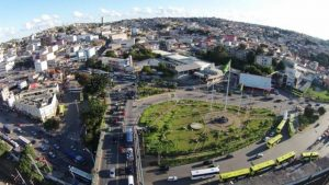 Foto aérea da cidade de Carapicuíba, representando escritório de contabilidade em Carapicuíba - Abertura Simples