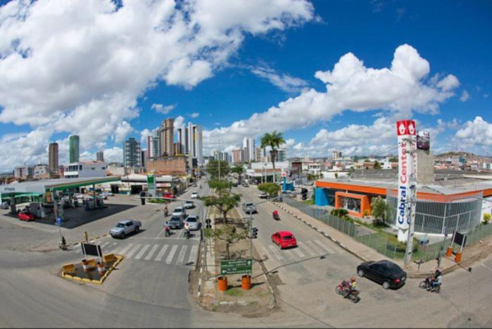 Foto aérea de Caruaru, representando abrir empresa em Caruaru - Abertura Simples