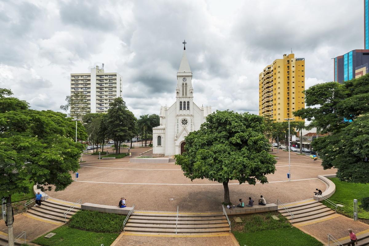 Praça em Catanduva, representando escritório de contabilidade em Catanduva - Abertura Simples