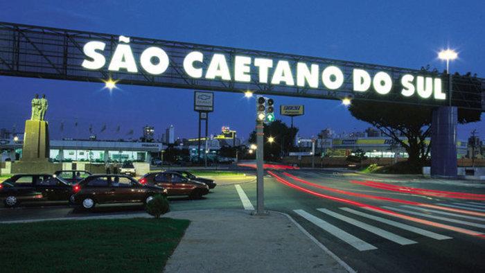 Letreiro da cidade de São Caetano do Sul, representando escritório de contabilidade em São Caetano do Sul - Abertura Simples