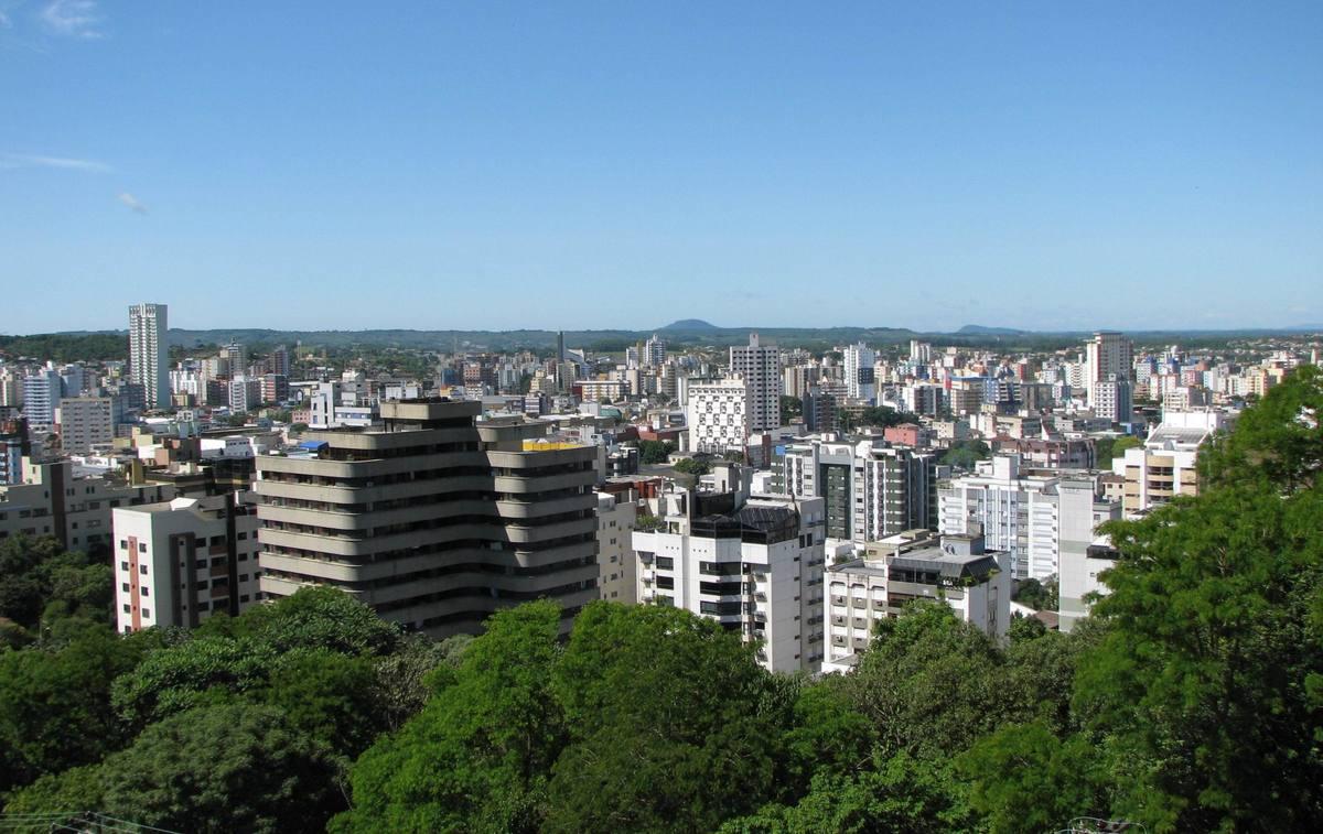 Foto aérea em Criciúma, representando escritório de contabilidade em Criciúma - Abertura Simples