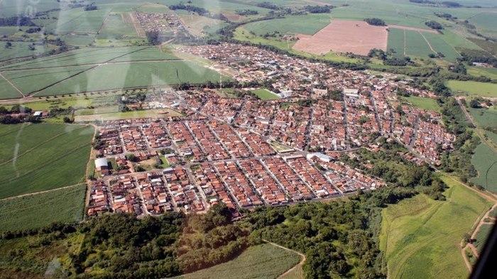 Foto aérea de Dobrada, representando escritório de contabilidade em Dobrada - Abertura Simples