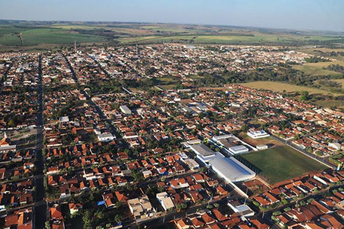 Foto aérea de Ibirá, representando escritório de contabilidade em Ibirá - Abertura Simples