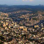 Foto aérea da cidade de Poços de Caldas, representando escritório de contabilidade em Poços de Caldas - Abertura Simples