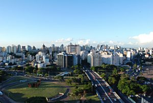 Foto aérea de Porto Alegre, representando escritório de contabilidade em Porto Alegre - Abertura Simples