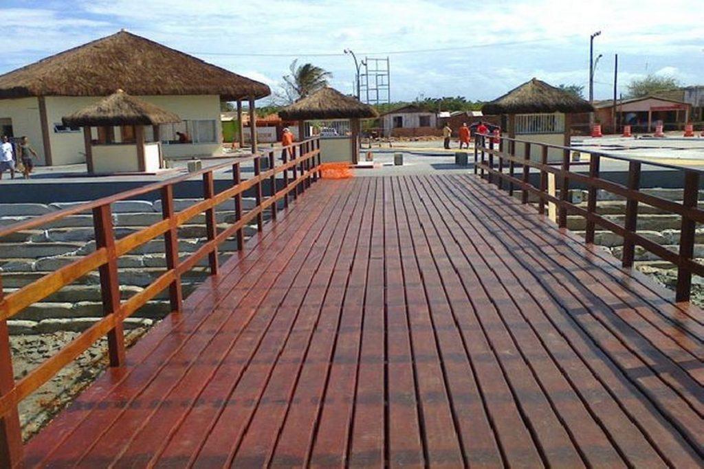 Foto de uma ponte na cidade de Raposa, representando abrir empresa em Raposa - Abertura Simples