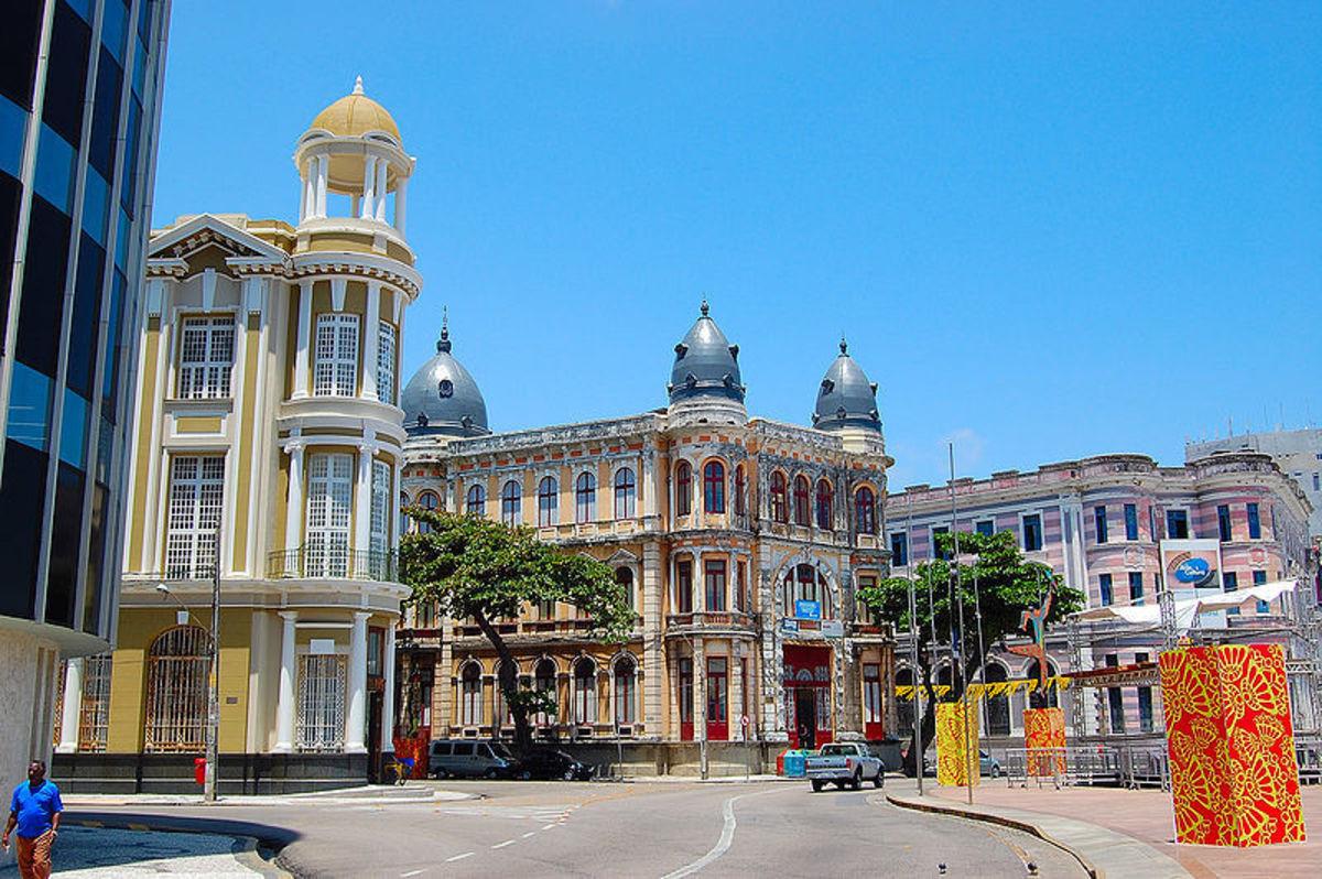 Foto da cidade de Recife, representando escritório de contabilidade em Recife - Abertura Simples