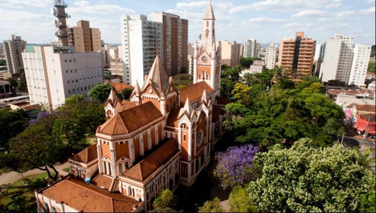 Foto aérea de Ribeirão Preto, representando abrir empresa em Ribeirão Preto - Abertura Simples