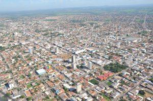 Foto aérea de Rondonópolis, representando abrir empresa em Rondonópolis - Abertura Simples