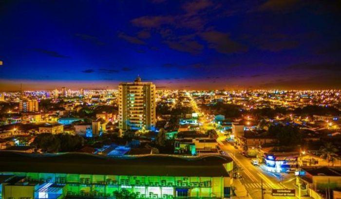 Vista aérea de Rondonópolis, representando escritório de contabilidade em Rondonópolis - Abertura Simples