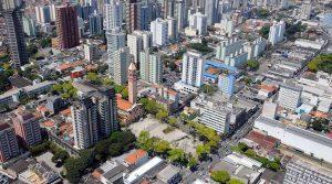 Foto aérea de São Bernardo do Campo, representando escritório de contabilidade em São Bernardo do Campo - Abertura Simples