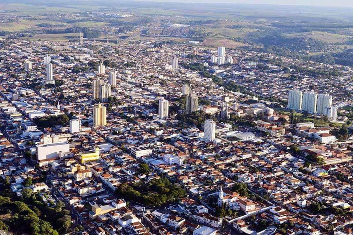 Foto aérea da cidade de Sertãozinho, representando abrir empresa em Sertãozinho - Abertura Simples