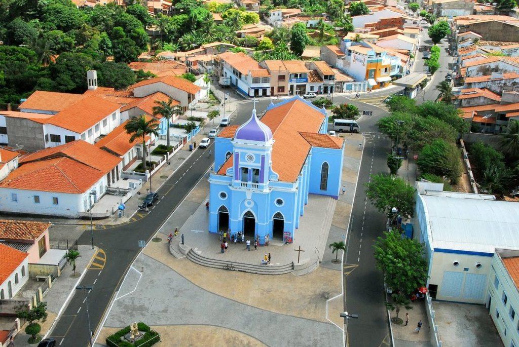 Foto aérea de São José de Ribamar, representando abrir empresa em São José de Ribamar - Abertura Simples
