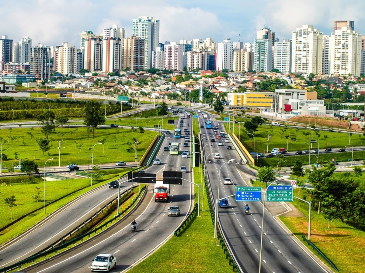 Foto da cidade de São José dos Campos, representando escritório de contabilidade em São José dos Campos - Abertura Simples