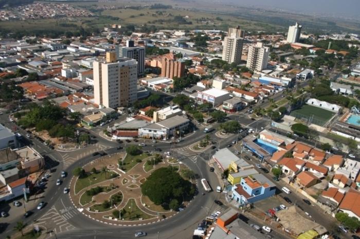 Foto aérea de Sumaré, representando escritório de contabilidade em Sumaré - Abertura Simples