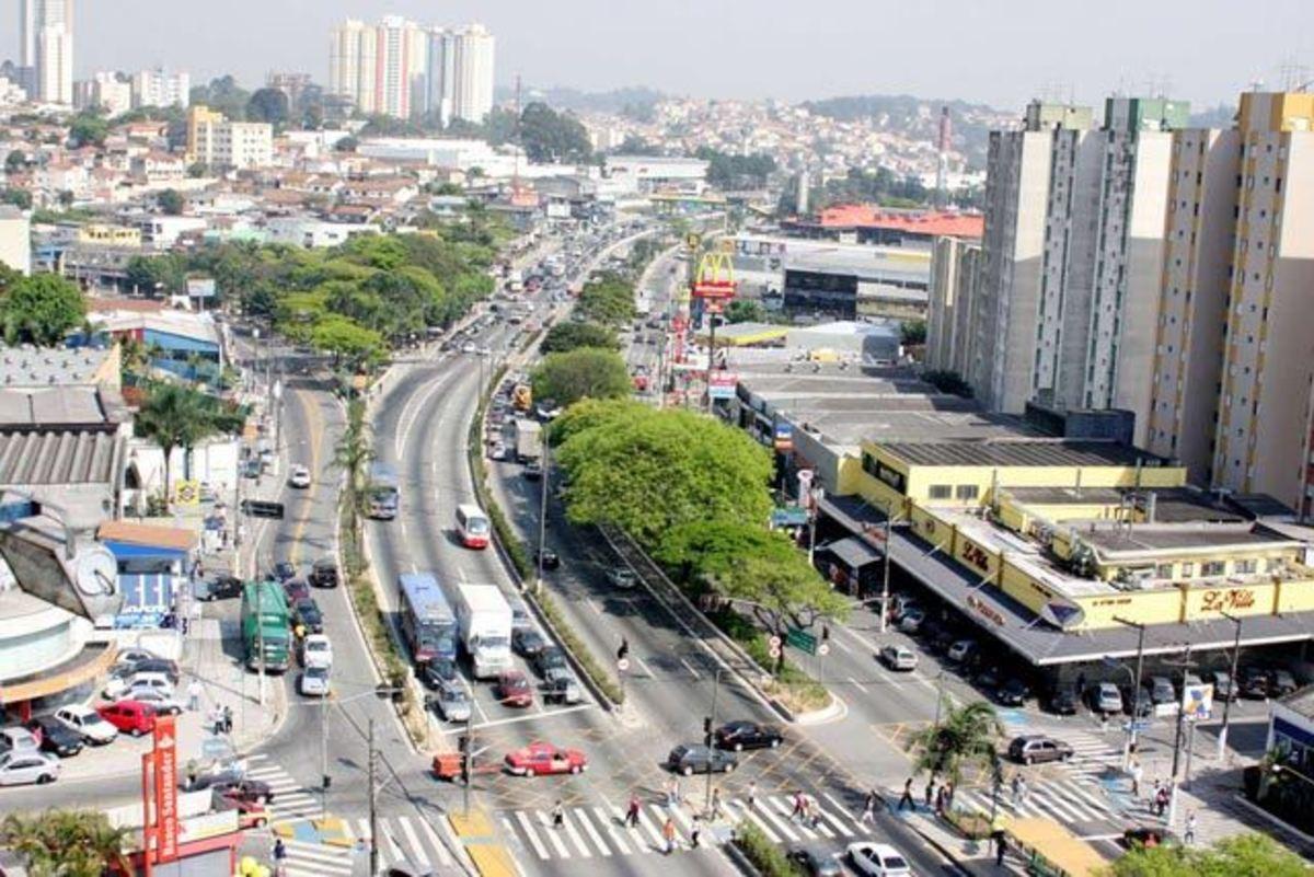 Foto aérea de Taboão da Serra, representando escritório de contabilidade em Taboão da Serra - Abertura Simples