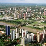Foto aérea de Teresina, representando abrir empresa em Teresina - Abertura Simples