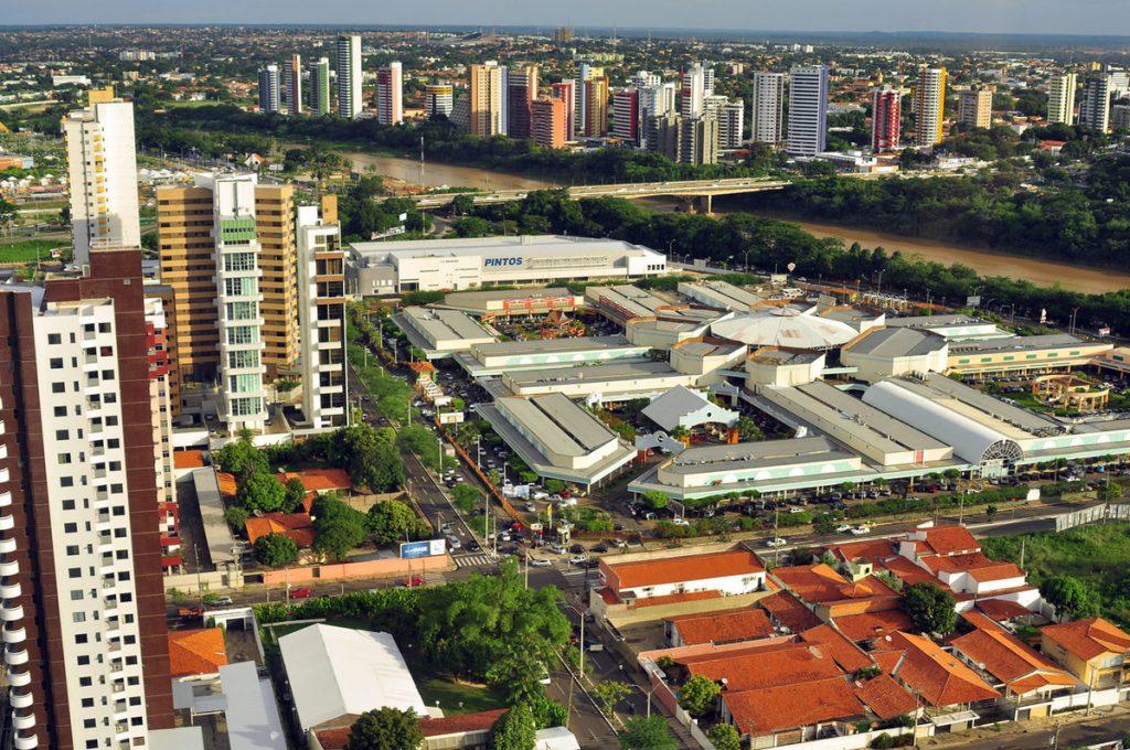 Foto aérea de Teresina, representando escritório de contabilidade em Teresina - Abertura Simples