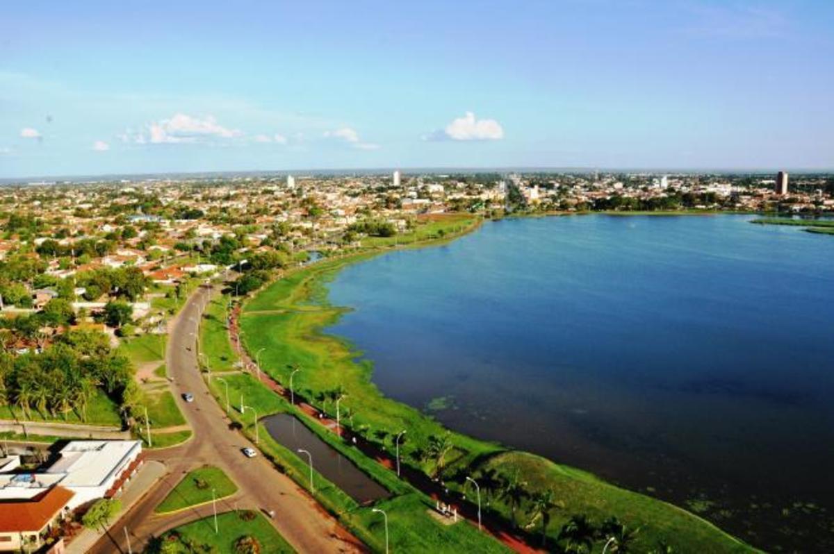 Foto aérea de Três Lagoas , representando escritório de contabilidade em Três Lagoas - Abertura Simples