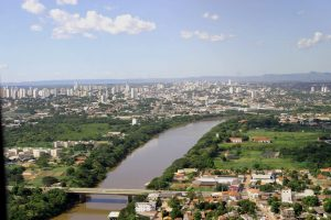 Foto aérea da cidade de Várzea Grande, representando escritório de contabilidade em Várzea Grande - Abertura Simples