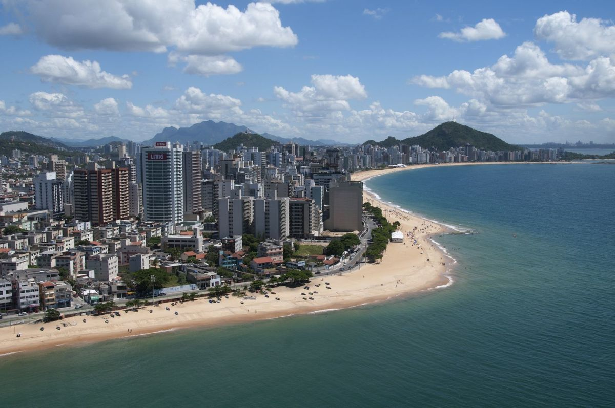 Foto da orla da cidade representando abrir empresa em Vila Velha