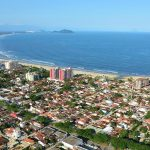 Foto aérea de Bertioga, representando abrir empresa em Bertioga - Abertura Simples
